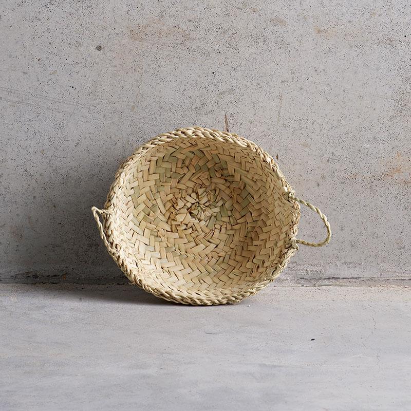 Tine K Home – Korb Palmenblätter mit Henkeln
