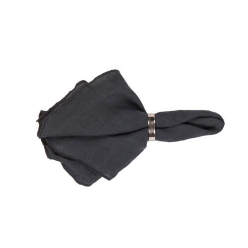 Broste Copenhagen – GRACIE Serviette – Dark Grey