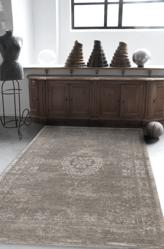 Teppich – Used Optik – Grey Beige – ca. 170 x 240 cm