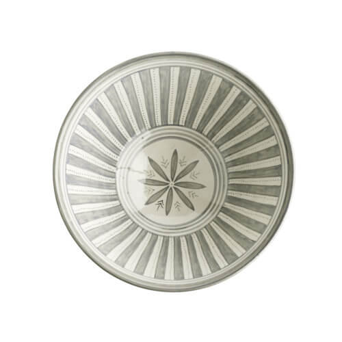 Tine K Home – Salatschale CEBOWL – Grau-Weiß
