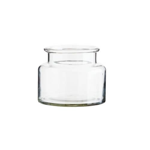Madam Stoltz – Vase aus recyceltem Glas