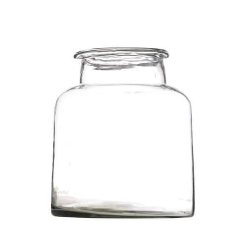 Madam Stoltz – Vase Big aus recyceltem Glas