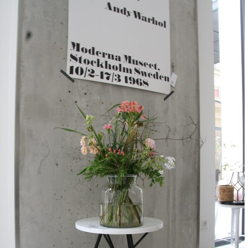 Madam Stoltz – Vase aus Glas in Krugform