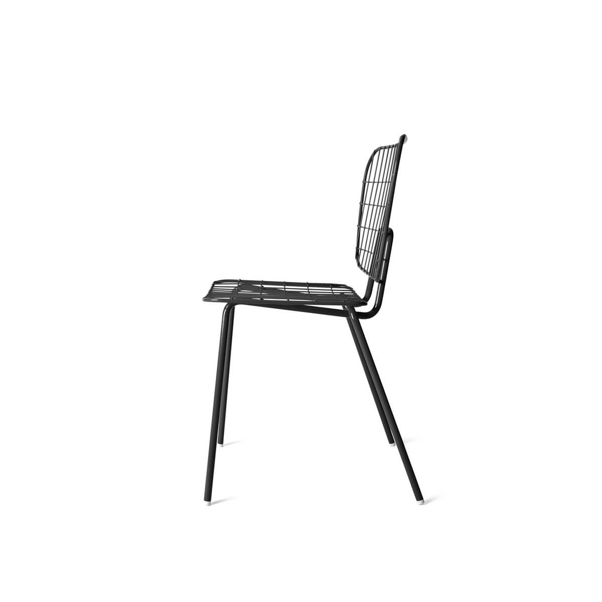 menu stuhl wm string dining chair black draht stuhl. Black Bedroom Furniture Sets. Home Design Ideas