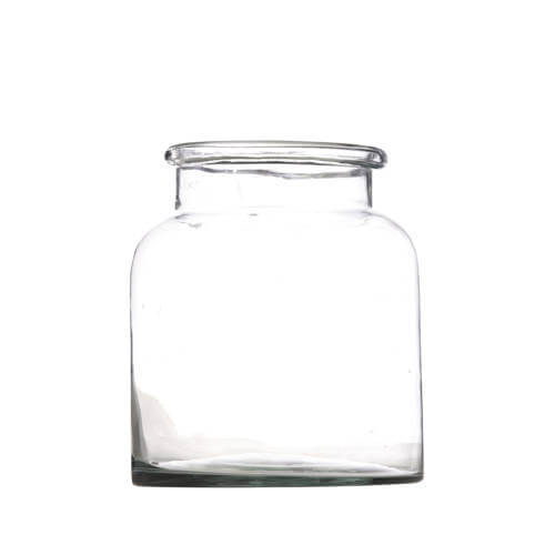Madam Stoltz - Vase aus recyceltem Glas