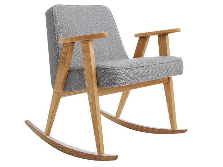 Schaukelstuhl rocking chair by 366 concept kollektion tweed stil - Schaukelstuhl skandinavisch ...
