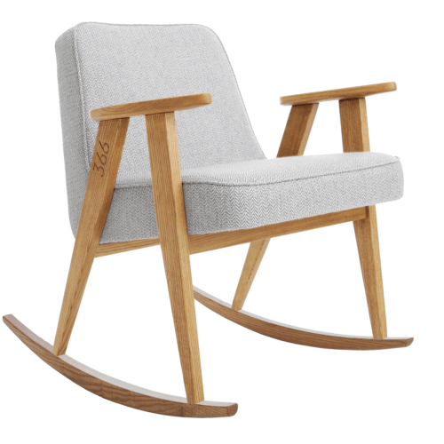 366 Rockingchair (Schaukelstuhl) – Kollektion Tweed