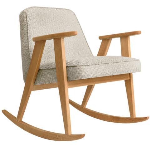 366 Rockingchair (Schaukelstuhl) Kollektion Tweed Beige