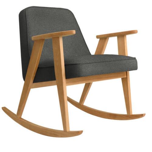 366 Rockingchair (Schaukelstuhl) Kollektion Tweed Black