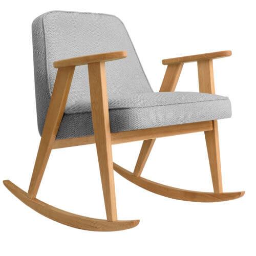 366 Rockingchair (Schaukelstuhl) Kollektion Tweed Grey