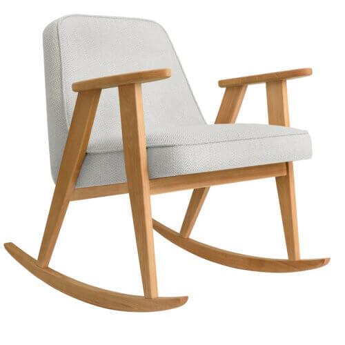 366 Rockingchair (Schaukelstuhl) Kollektion Tweed White