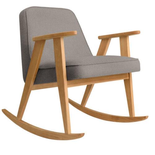 366 Rockingchair (Schaukelstuhl) Kollektion Tweed Stone