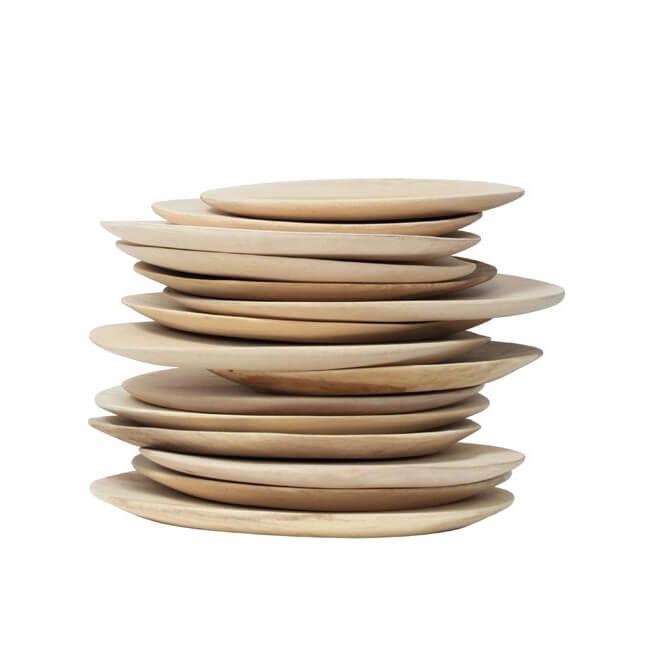 HK Living – Mango Teller / Plates – S (Ø 24-30cm)