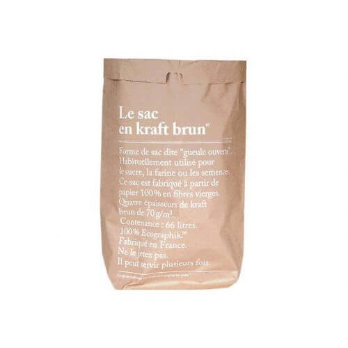 Le sac en kraft brun – Paper Bag – Big