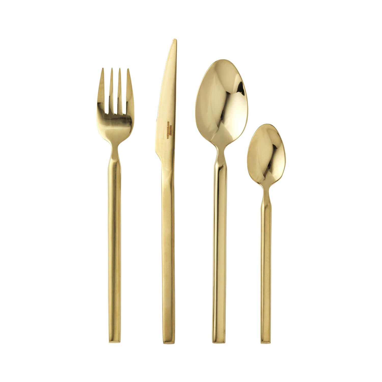 Broste Copenhagen – TVIS Besteck Titanium Gold