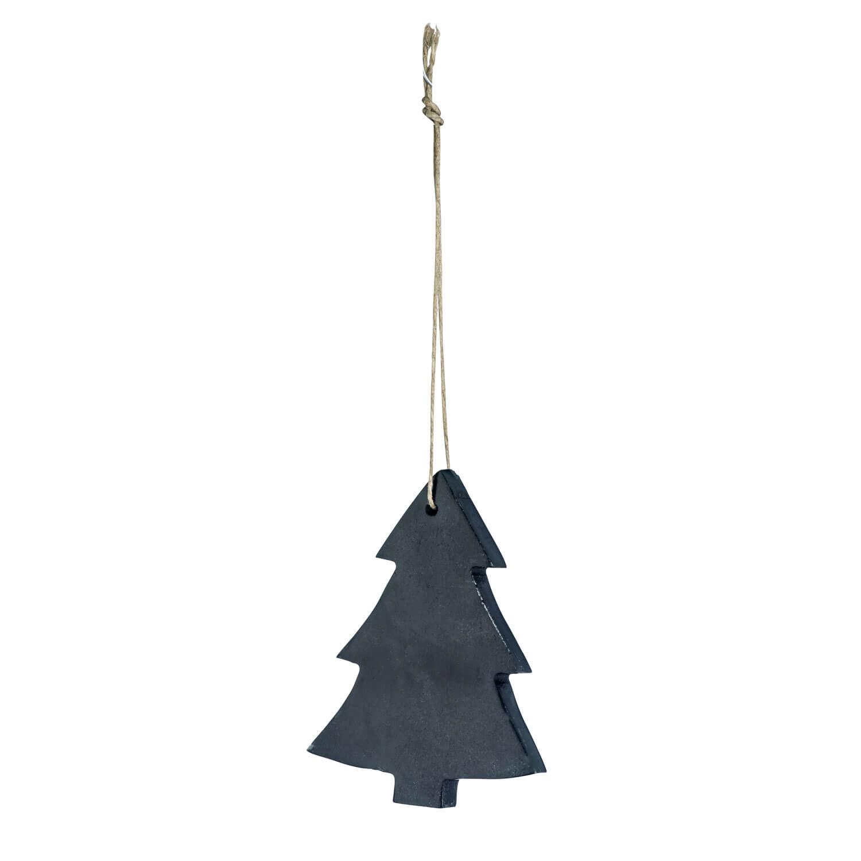 Madam Stoltz – Weihnachtsbaum – Speckstein Schwarz