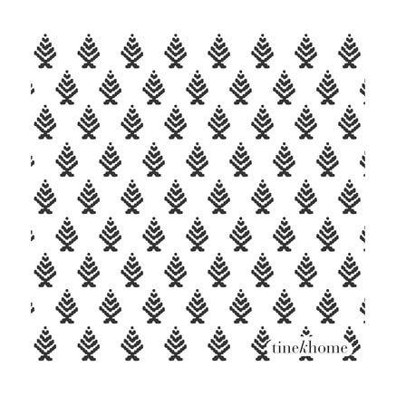 TineK Papierservietten Stilisierte Tannenbaum