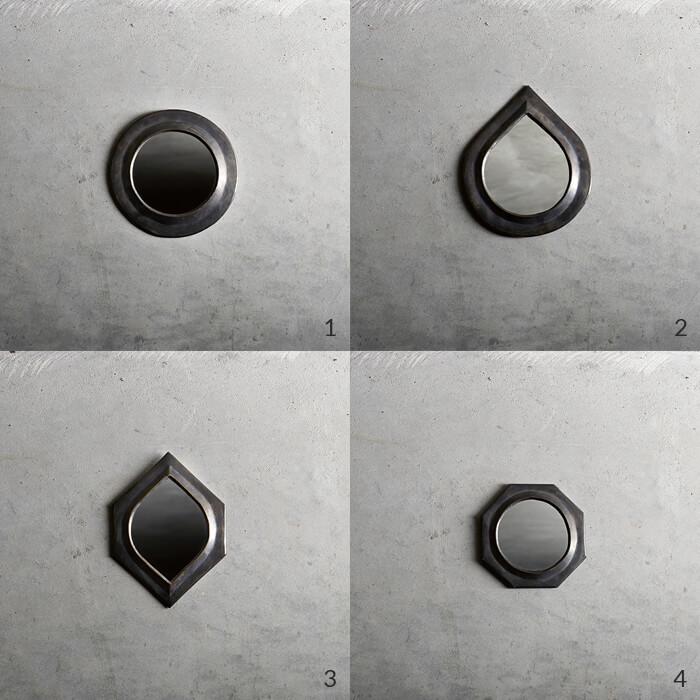 Tine K Home – Spiegel Set – 4 graphische Formen SMALL