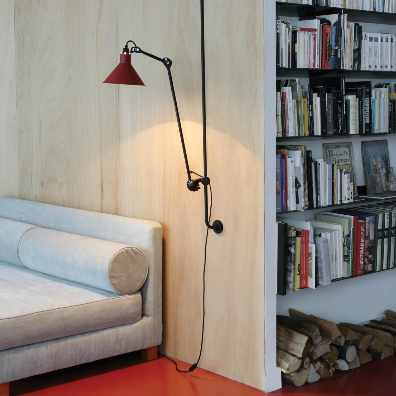 dcw les acrobates de gras wandleuchte no 214. Black Bedroom Furniture Sets. Home Design Ideas
