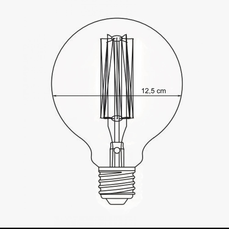OPJET Paris – Glühbirne Edison Style – Bulb Rund