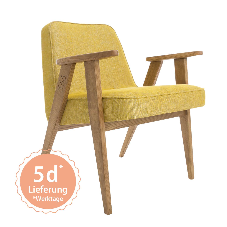 366 Armchair Sessel – Variante Loft Mustard