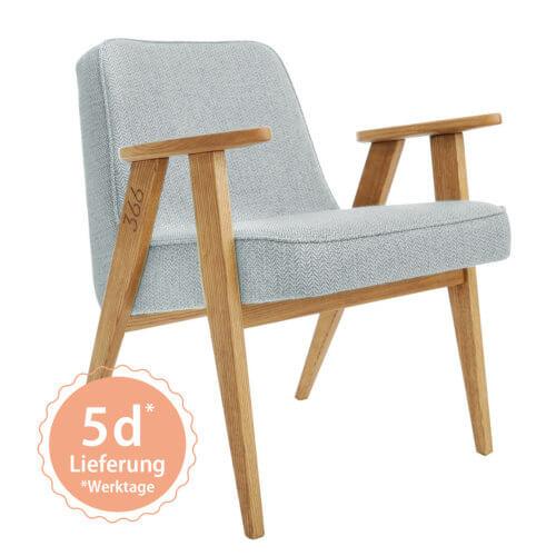 366 Armchair Sessel – Variante Tweed Mentos