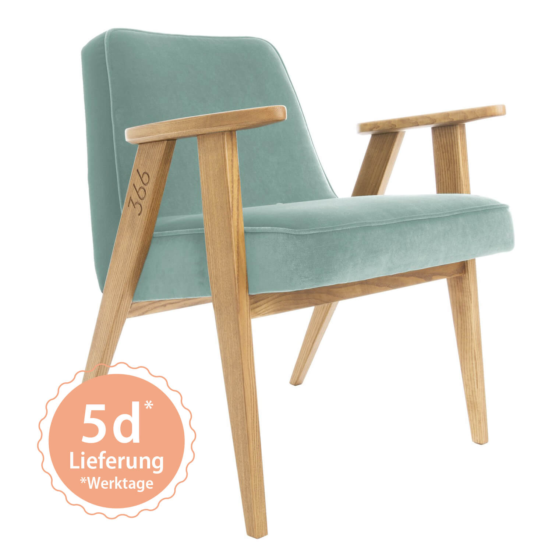 366 Armchair Sessel – Variante Velvet Mint