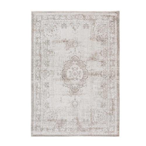 Teppich – Used Optik – Grey-White