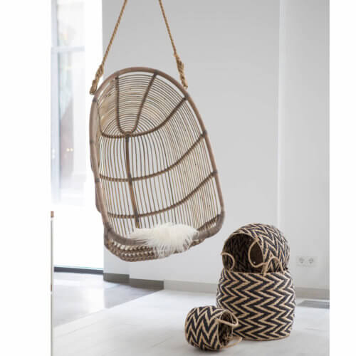 Sika – Renoir Hanging Chair – Taupe