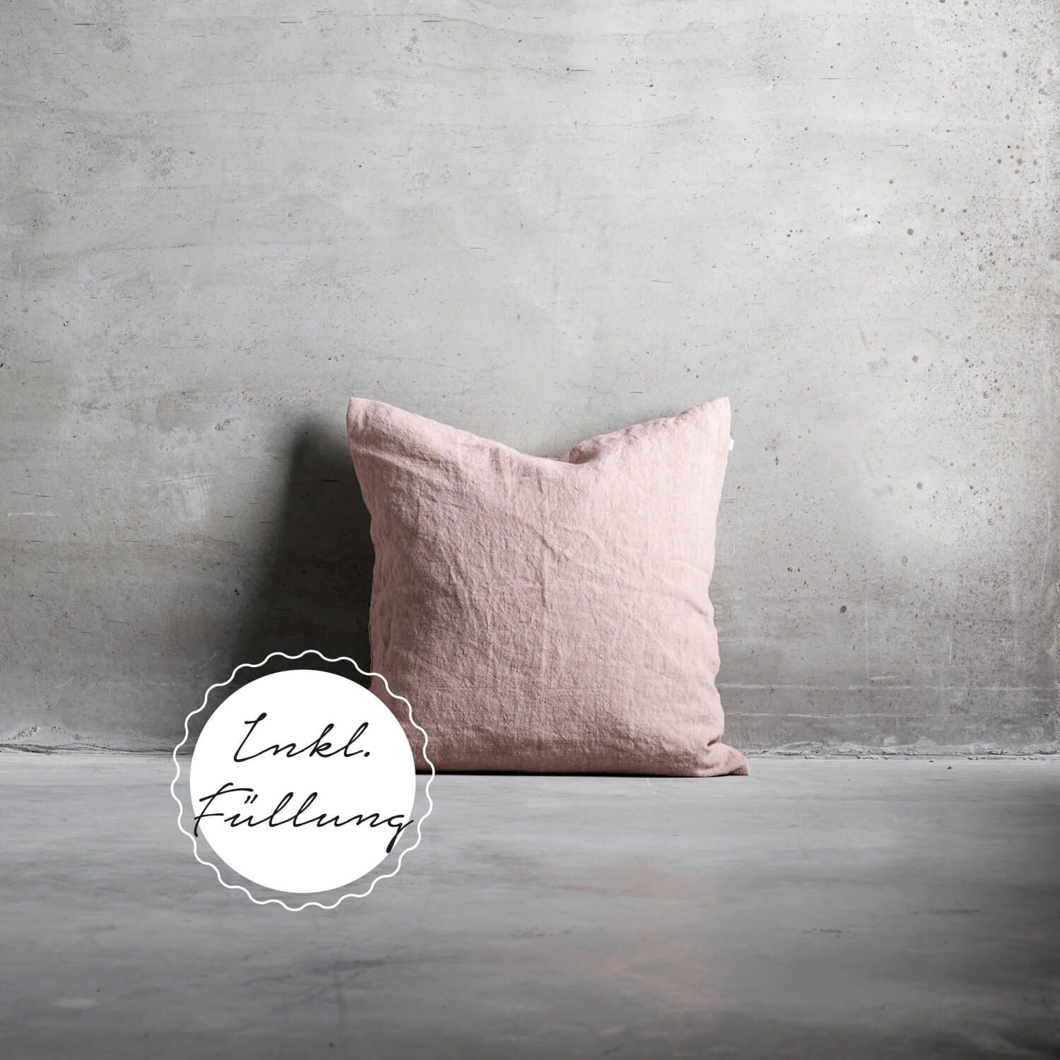 Tine K Home Collection – Kissen Rosé