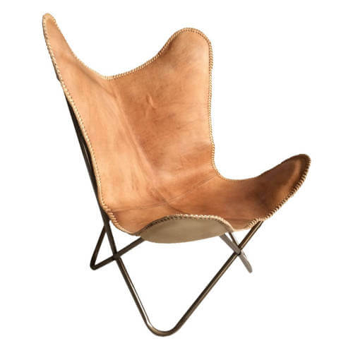 Butterfly Chair Natural Brown