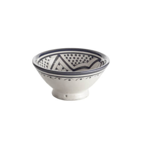 TineK Home – Schale CEBOWL – Grey & White – ca. Ø 13 cm