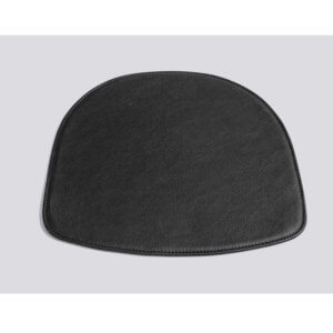 HAY – Seat Pad for AAC w. arm – Leder – Black