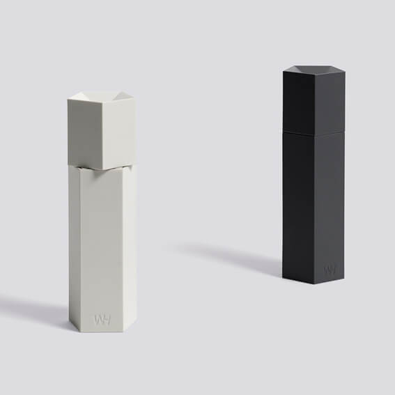 hay ori salz pfefferm hle light grey h he 18 cm. Black Bedroom Furniture Sets. Home Design Ideas
