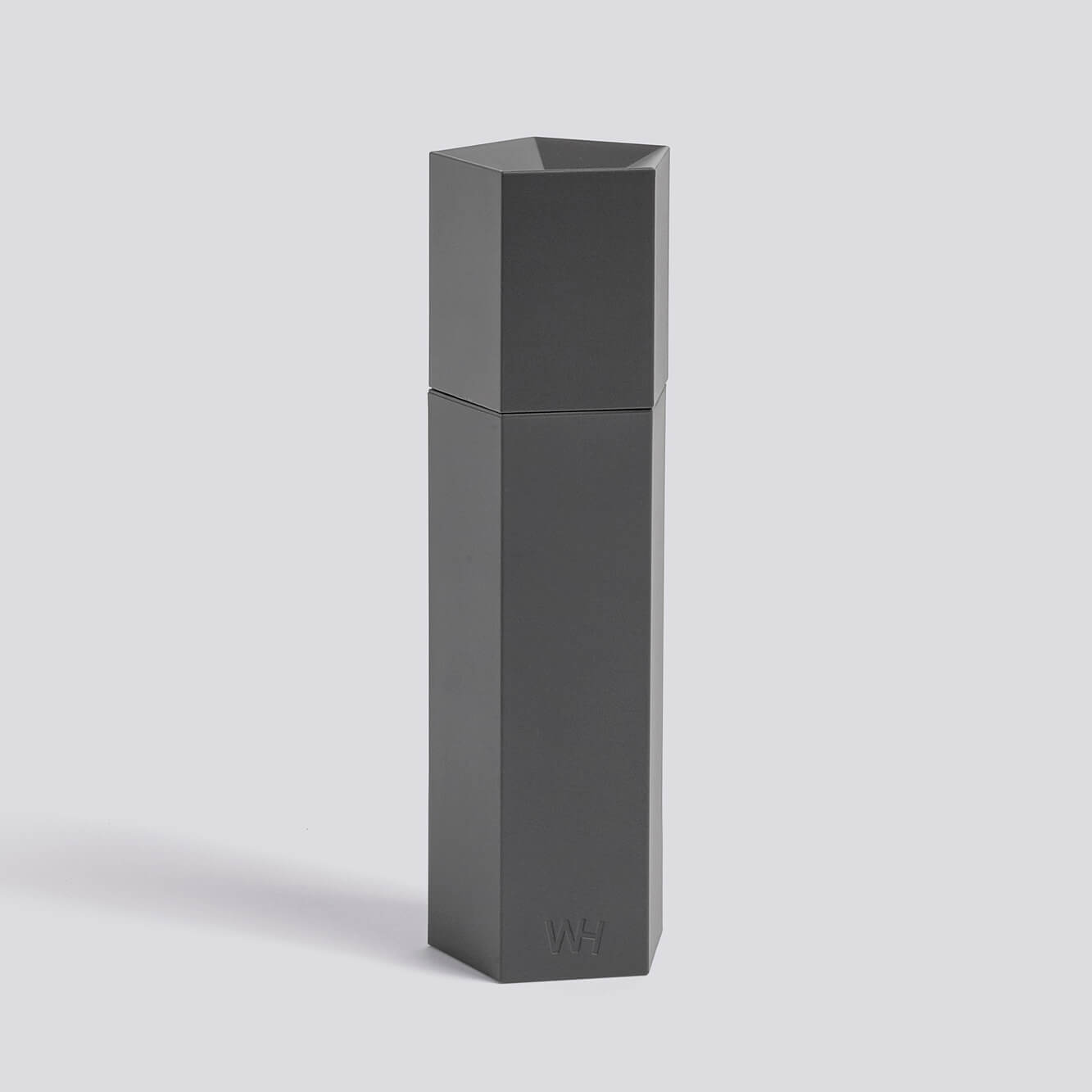 hay ori salz pfefferm hle light grey h he 18 cm durchmesser 5 cm. Black Bedroom Furniture Sets. Home Design Ideas