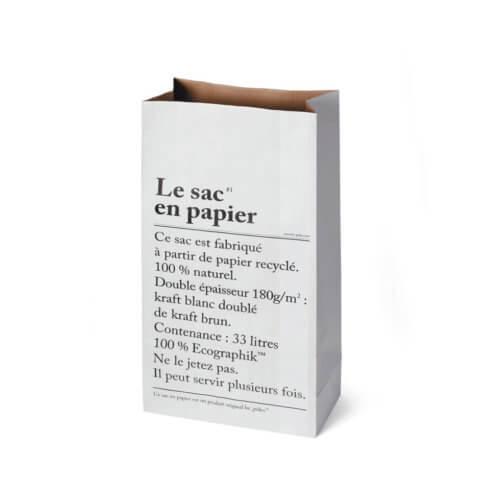Papiersack M Le sac en papier – Paper Bag ca. 33 l