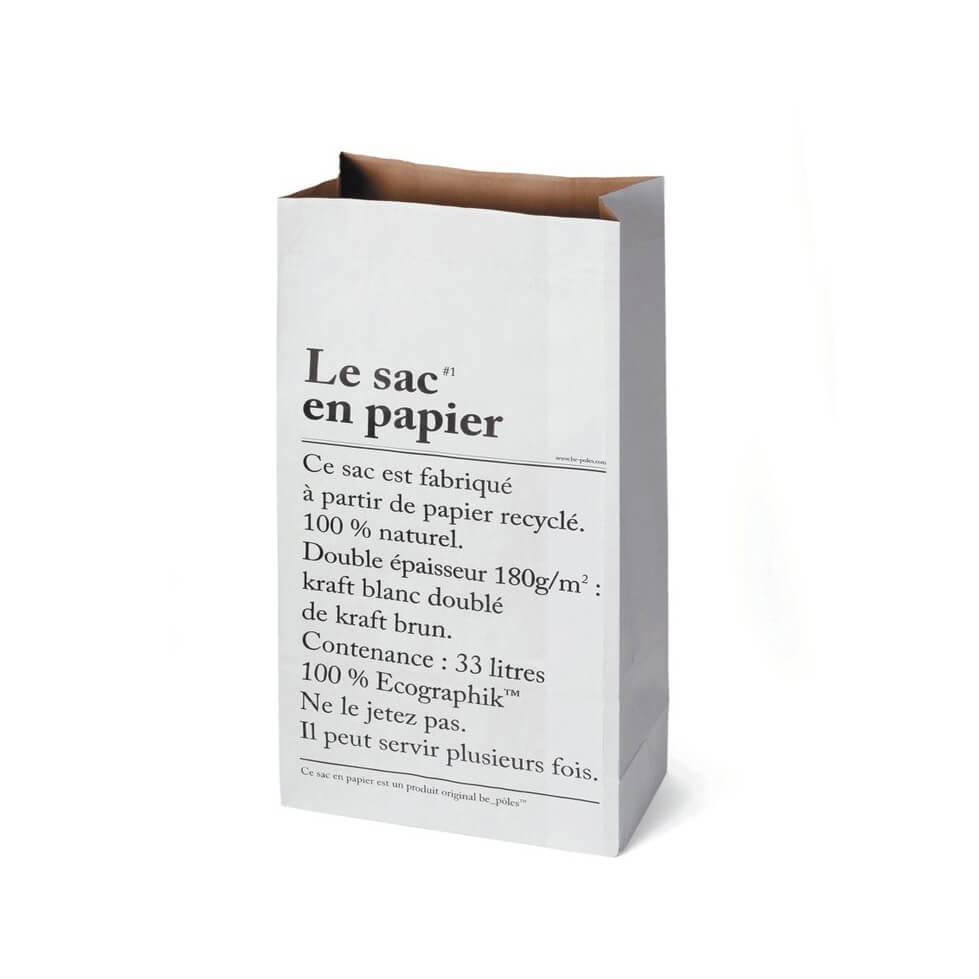 Le sac en papier – Paper Bag – Medium