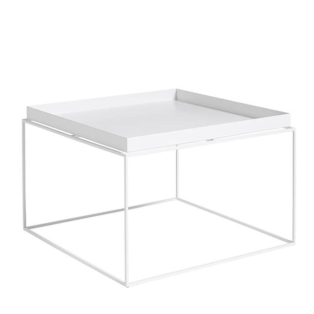 hay tray table 60x60 weiss stil. Black Bedroom Furniture Sets. Home Design Ideas