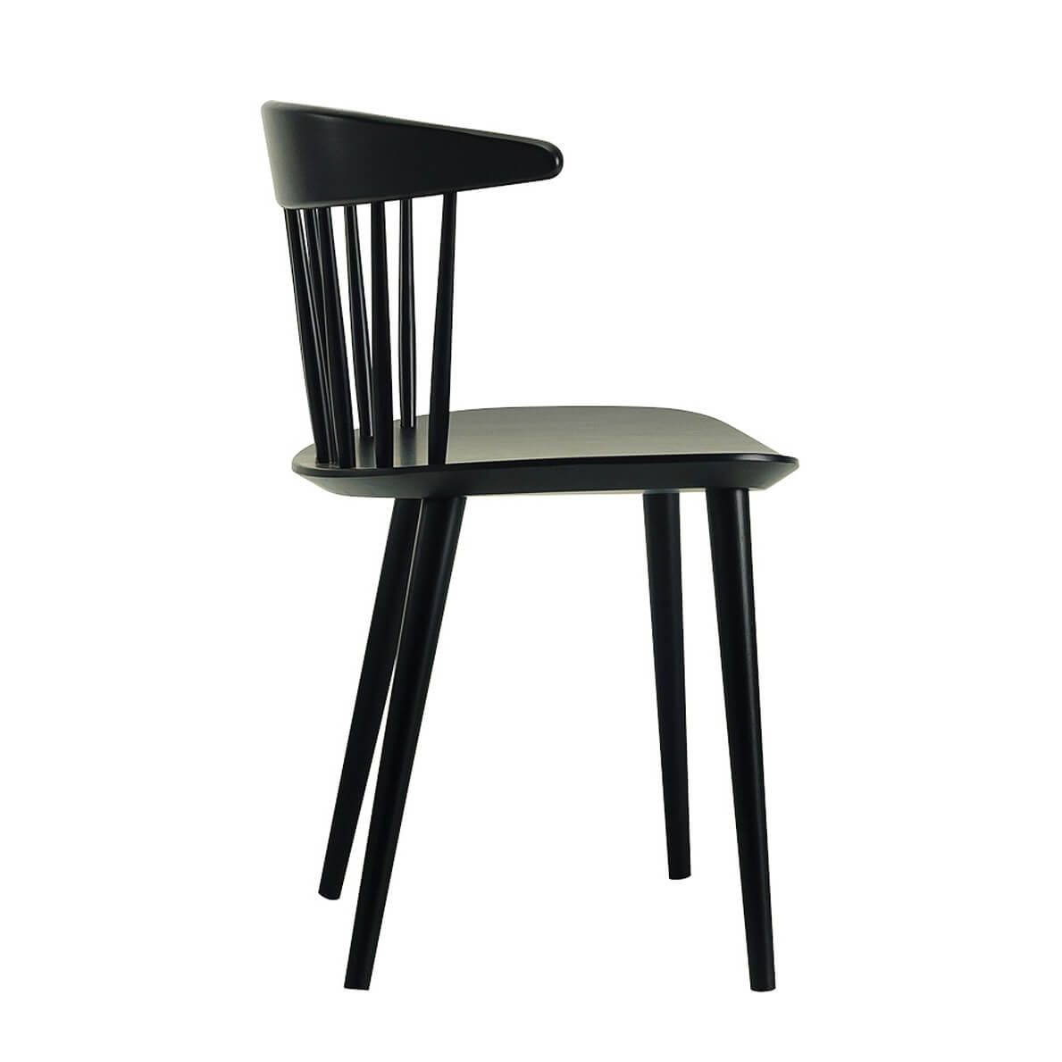 hay chair j104 black kultdesigner j ergen b kmark sitzh he 44 5cm. Black Bedroom Furniture Sets. Home Design Ideas