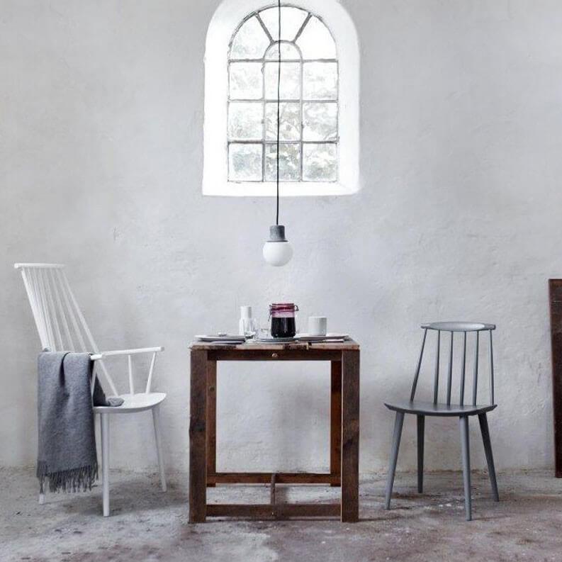 hay chair j110 white kultdesigner j ergen b kmark sitzh he 44 5cm. Black Bedroom Furniture Sets. Home Design Ideas