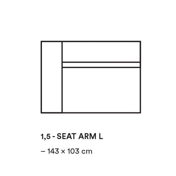 Dunbar_1,5_SEAT_ARM_L