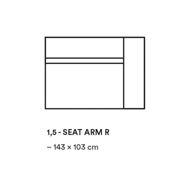 Dunbar_1,5_SEAT_ARM_R