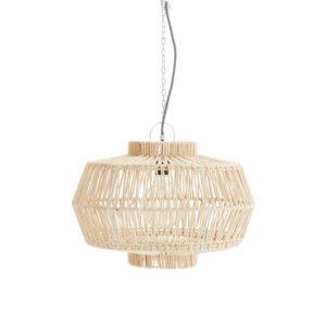 Madam Stoltz – Designlampe aus Baumwollseilen