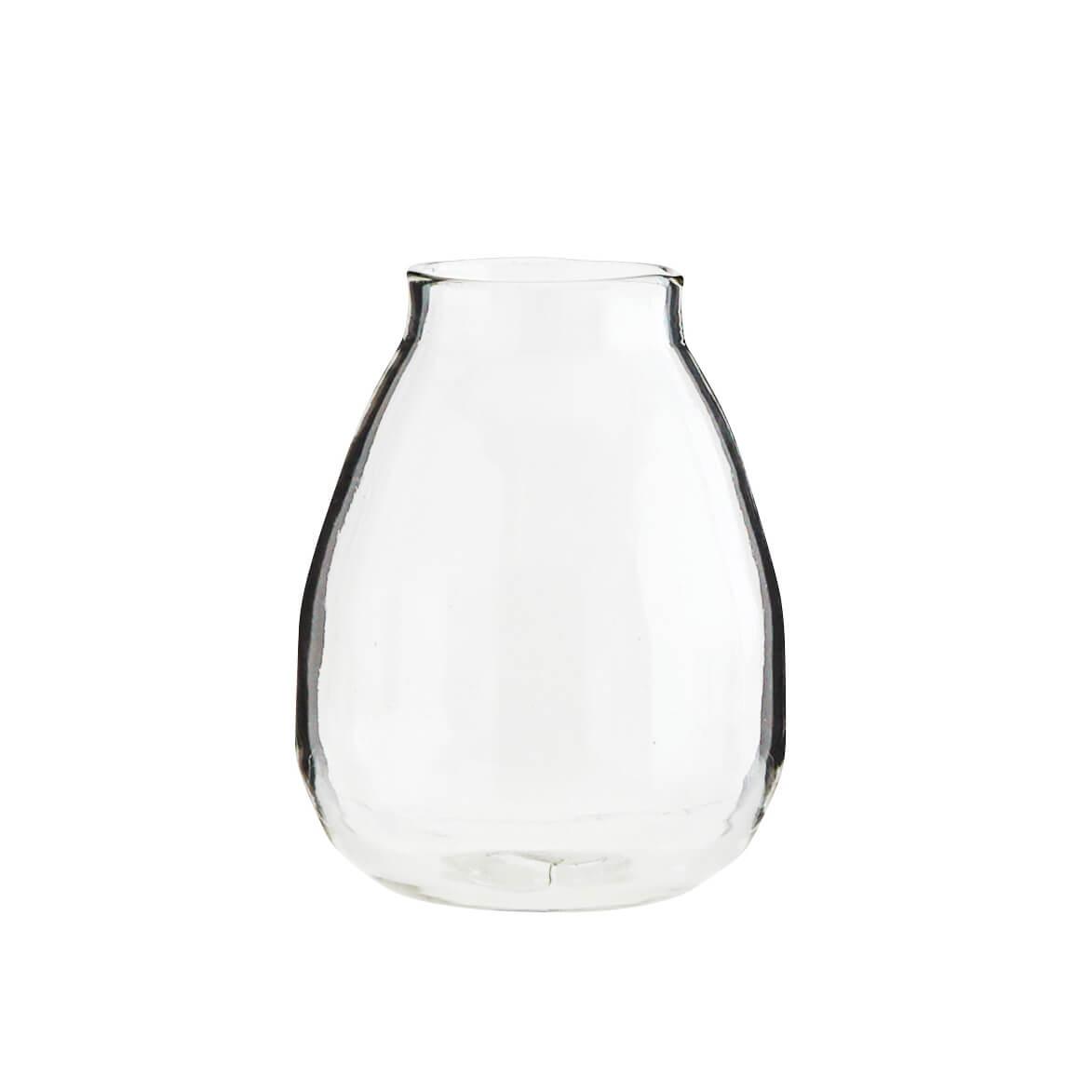 Madam Stoltz – Vase aus recycelten Glas