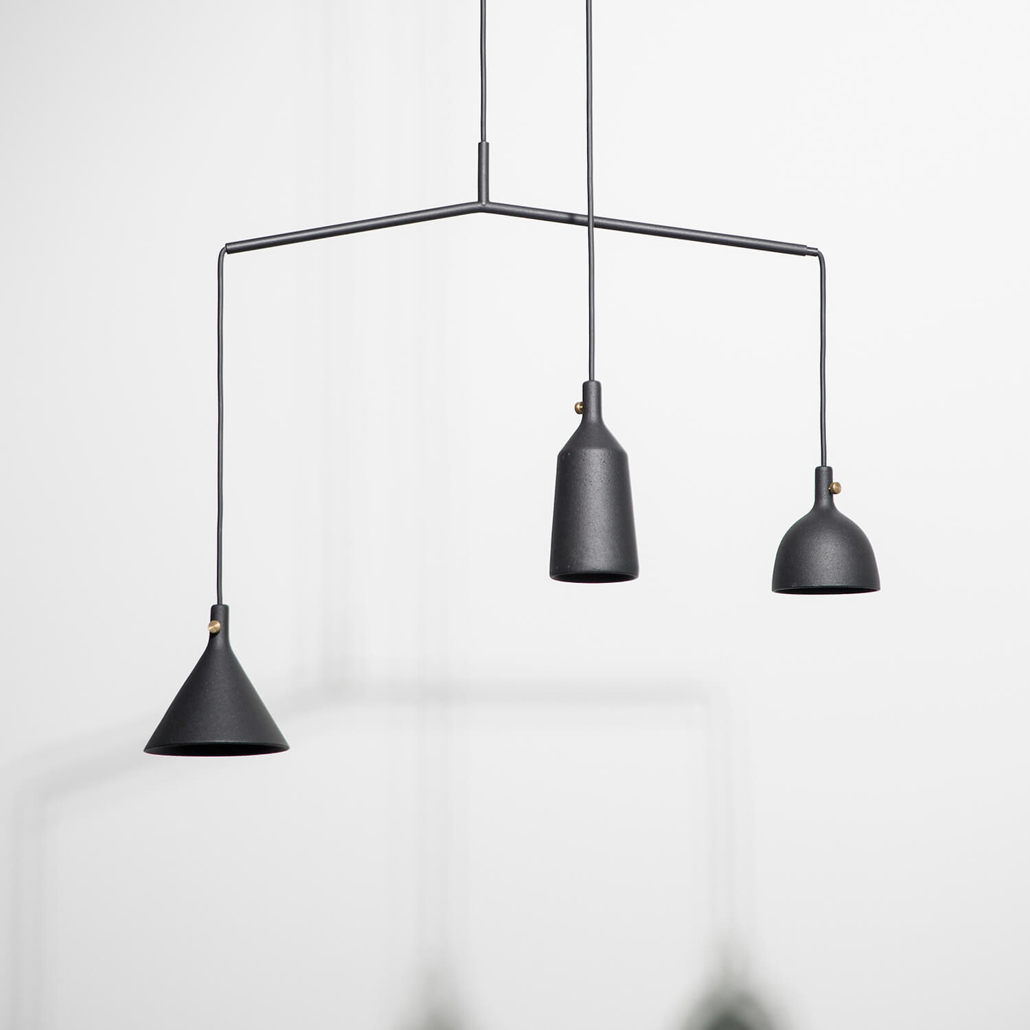 MENU – Cast Pendant – Shape 3 – Black