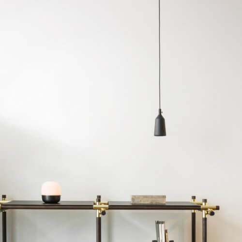 MENU – Cast Pendant Shape 3 – Black