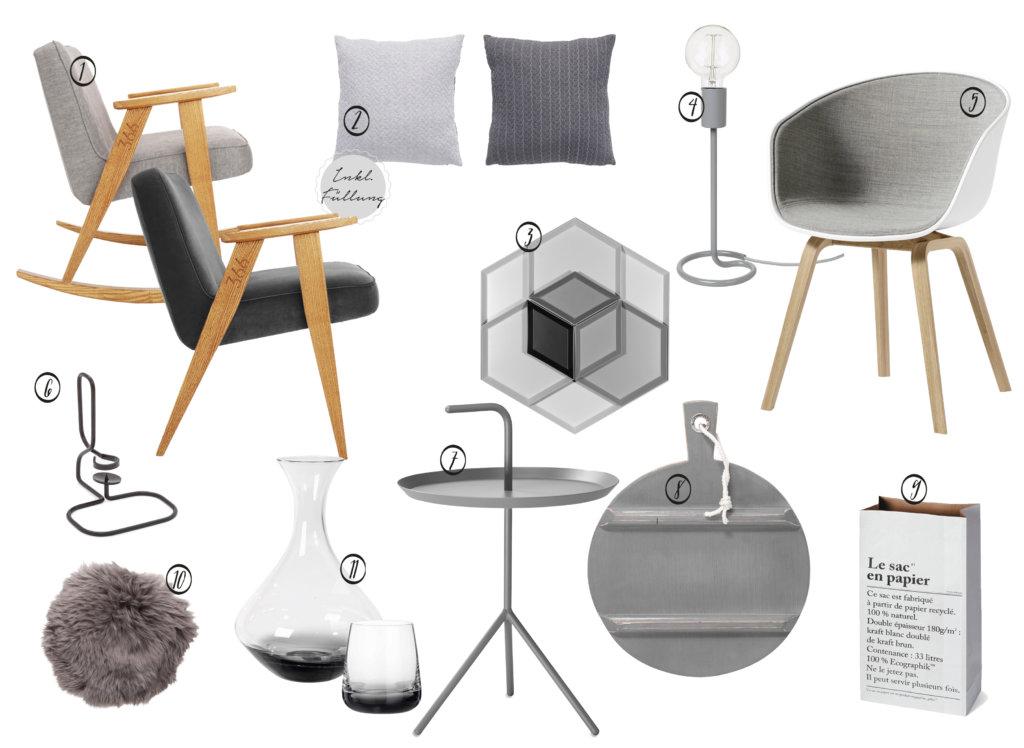 Shades of Grey - STIL Interior Grau