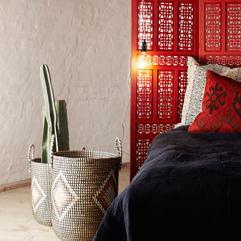 madam stoltz pendelleuchte jute mit stecker zipper 3 m kabel. Black Bedroom Furniture Sets. Home Design Ideas