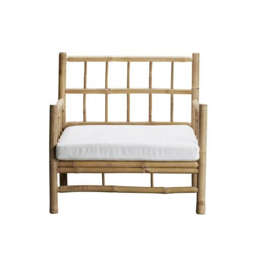 Tine K Home BambusLounge Sessel– verschiedenen Sitzauflagen