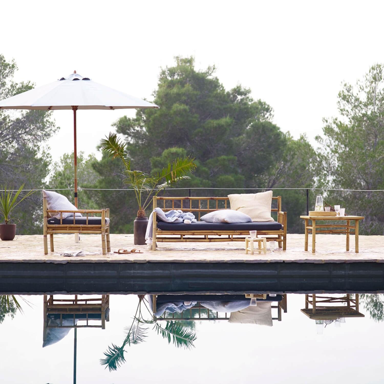 Purisch Wunderbar Naturlich Der Tine K Home Bambus Lounge Sessel